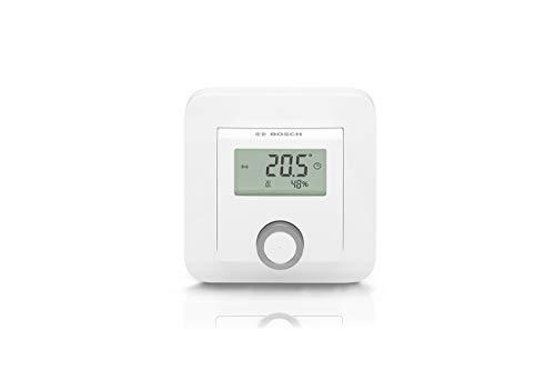 Raumthermostat von Bosch Smart Home, kompatibel mit Alexa und Google Assistant