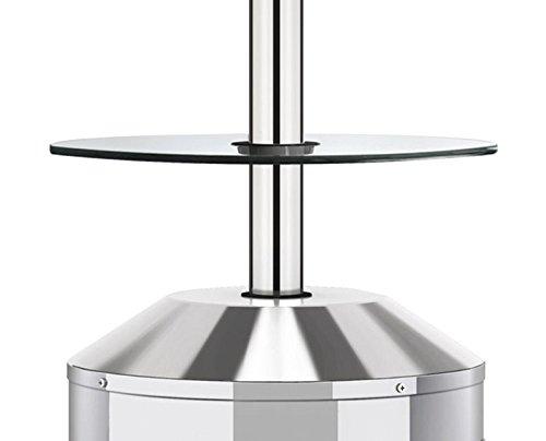 Glastisch für Elegance Modell 5062 von Enders