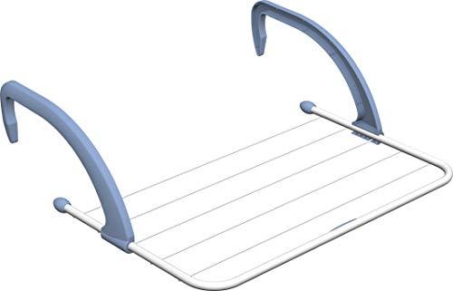 Vileda Wäscheständer aus weißem Kunststoff zur Befestigung am Heizkörper oder der Balkonbrüstung