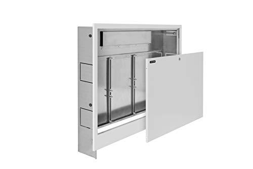 NANOPANEL Unterputz Verteilerschrank für die Fußbodenheizung mit Platz für 4 bis 12 Heizkreise