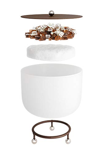 Tisch-Feuerschale aus Glas von beleza