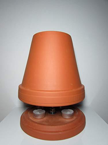 Teelichtofen inkl. 4 Teelichter, Durchmesser 22 cm von Teelichtofen