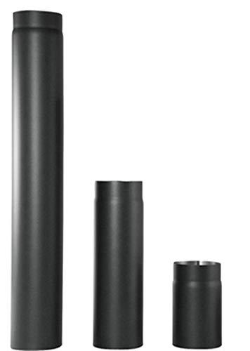 Ofenrohr aus 2mm Stahlblech von Senotherm, 6 Durchmesser zur Auswahl