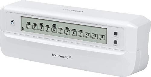 IP Fußbodenheizaktor - 12-fach von Homematic, kann auch über eine App gesteuert werden