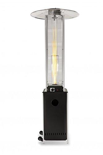 Heizpilz in Schwarz Modell Optical Pro von Empasa
