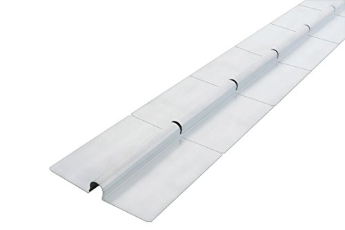 Wärmeleitblech von Dalsys, zum Verlegen einer Fußbodenheizung mit Sollbruchstelle, 50 Stück