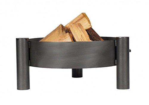 Feuerschale aus unbehandeltem Stahl PAN 33 Ø 80 cm von Farmcook