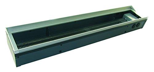 Elektrische Bodenkanalheizung von Etherma mit einer Länge von 200 cm und 880 Watt Leistung