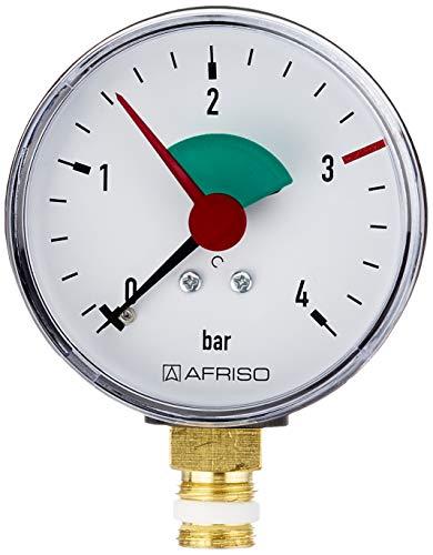 Sanitop Wingenroth - Rohrfeder Manometer, Anschluss unten, 1/4 Zoll