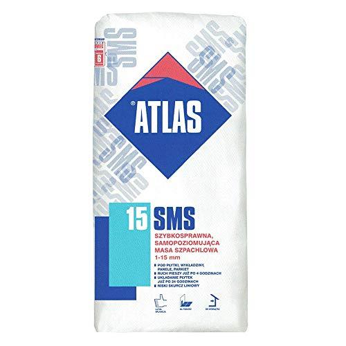 Schnell bindende Nivelliermasse von Atlas mit niedrigem Schwindmaß