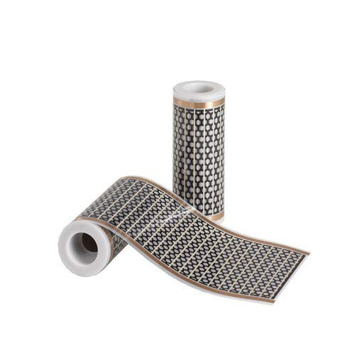 Mi-Heat Infrarot Heizfolie als elektrische Fußbodenheizung mit einem 12 V / DC Anschluss