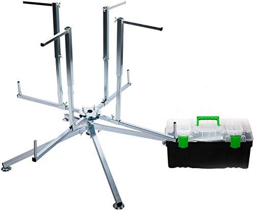 Novanetus Rohrhaspel für Fußbodenheizungsrohre inkl. Werkzeugkasten