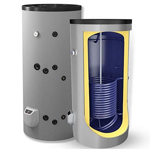 Kombinierter Warmwasserspeicher mit einem Fassungsvermögen von 200 L