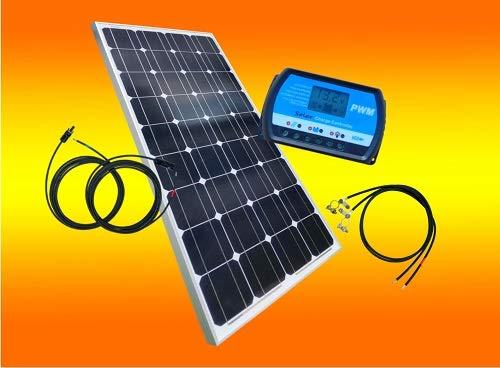 Inselanlage mit Bausatz  mit 100 Watt von bau tech Solarenergie