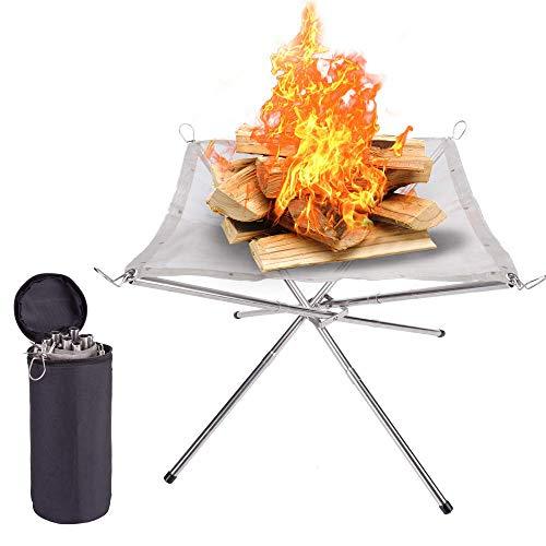 Faltbare Feuerschale für Camping von SUCHDECO