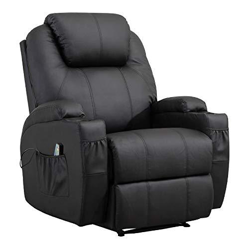 MCombo Massage-Fernsehsessel mit Heizung und Vibration