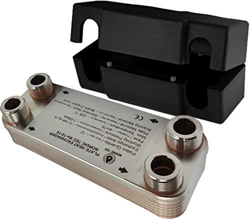 NORDIC - Plattenwärmetauscher aus Edelstahl Ba-12-12