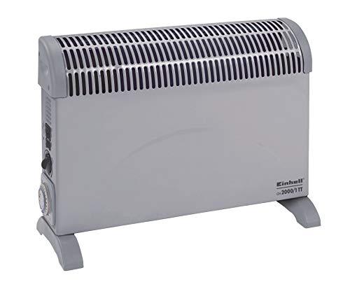 Konvektor mit Zeitschaltuhr und verschiedenen Heizstufen Thermostat von Einhell