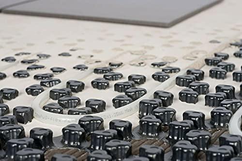 Fußbodenheizung Dünnschichtsystem Noppenplatte 21mm Aufbau, 5qm