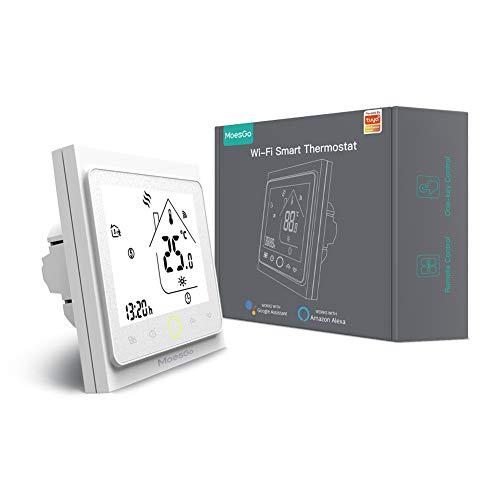 WIFI Funk Thermostat für die Fußbodenheizung von MoesGo