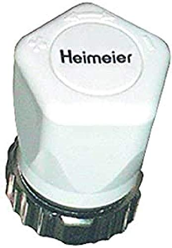 Weißer Thermostatkopf Art. Nr. 2001-00.325 von Heimeier mit M30 x 1,5 Anschluss