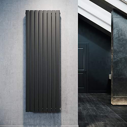 Paneelheizkörper 1800x616mm in Schwarz von Elegant