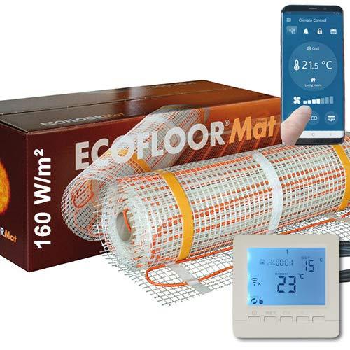 Fußbodenheizung von SAXONICA, mit einer Leistung von 1600 Watt (10 m²)