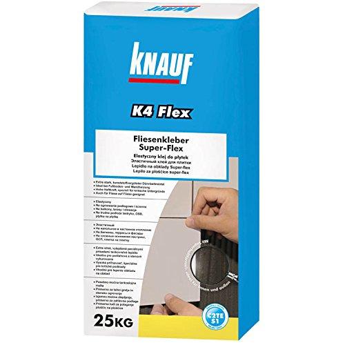 Fliesen-Flexkleber von Knauf für Boden- und Wandfliesen im Innen- und Außenbereich