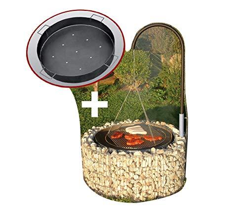 Grillstelle mit Kohlenschale von Bellissa