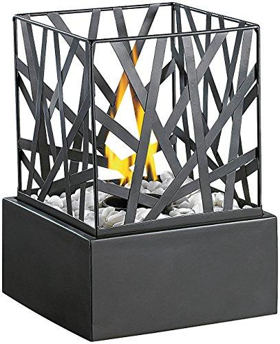 Tisch-Dekofeuer mit Steingarten Modell Feng Shui von Carlo Milano