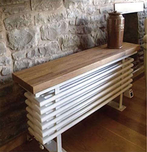 Sitzbank Heizkörper aus Eichenholz von TowelRads