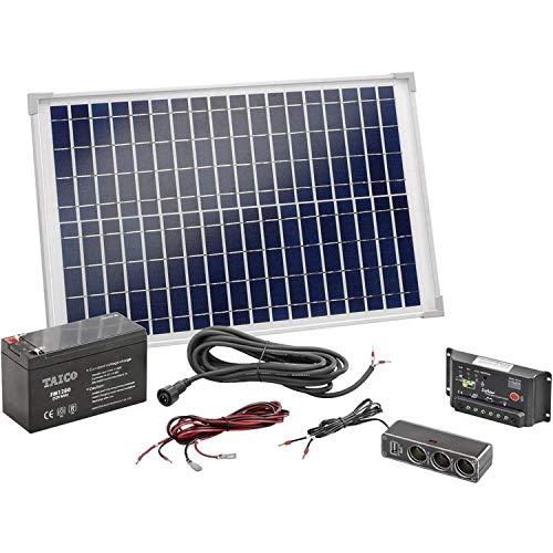 Solar-Set mit Anschlusskabel und Laderegler Modell 120005 von Esotec