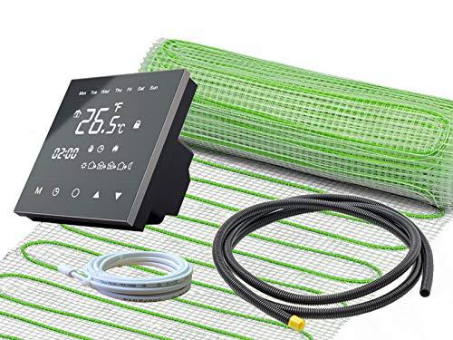UltraPro Elektro-Fußbodenheizung mit schwarzem Thermostat (RT-50)