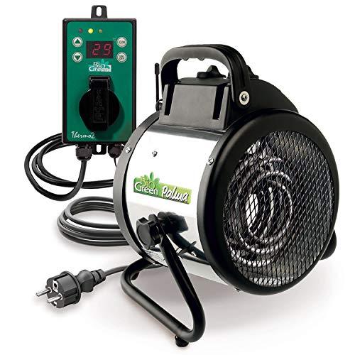 Spritzwassergeschützte Elektrogebläseheizung von Bio Green