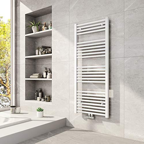 Badheizkörper Maße 1200 x 600 mm, mit Mittelanschluss von Meykoers