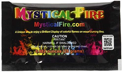 10 Päckchen Mystical Salz für buntes Feuer