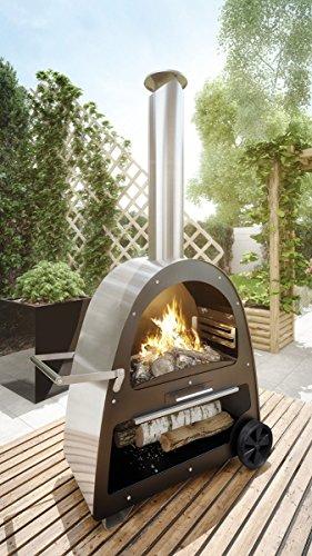 Fahrbarer Gartenkamin Modell TK1 von Flammenco