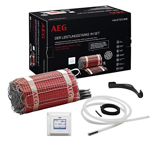 AEG Haustechnik Fußbodenheizung elektrisch, Komplettset