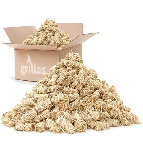 10 kg Grillanzünder aus Bio-Holzwolle von grillas