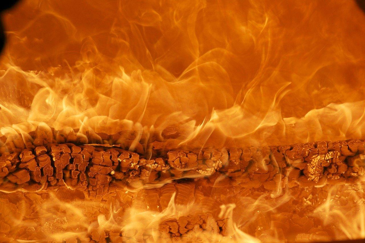 Feuer Flammen Hitze