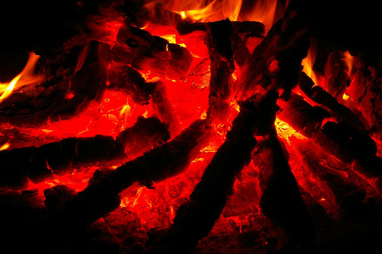 Feuer Glut Flammen Hitze