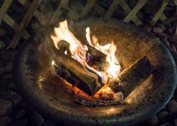 Feuerstelle mit Ethanol & Bioethanol | Feuerschale & Feuersäule