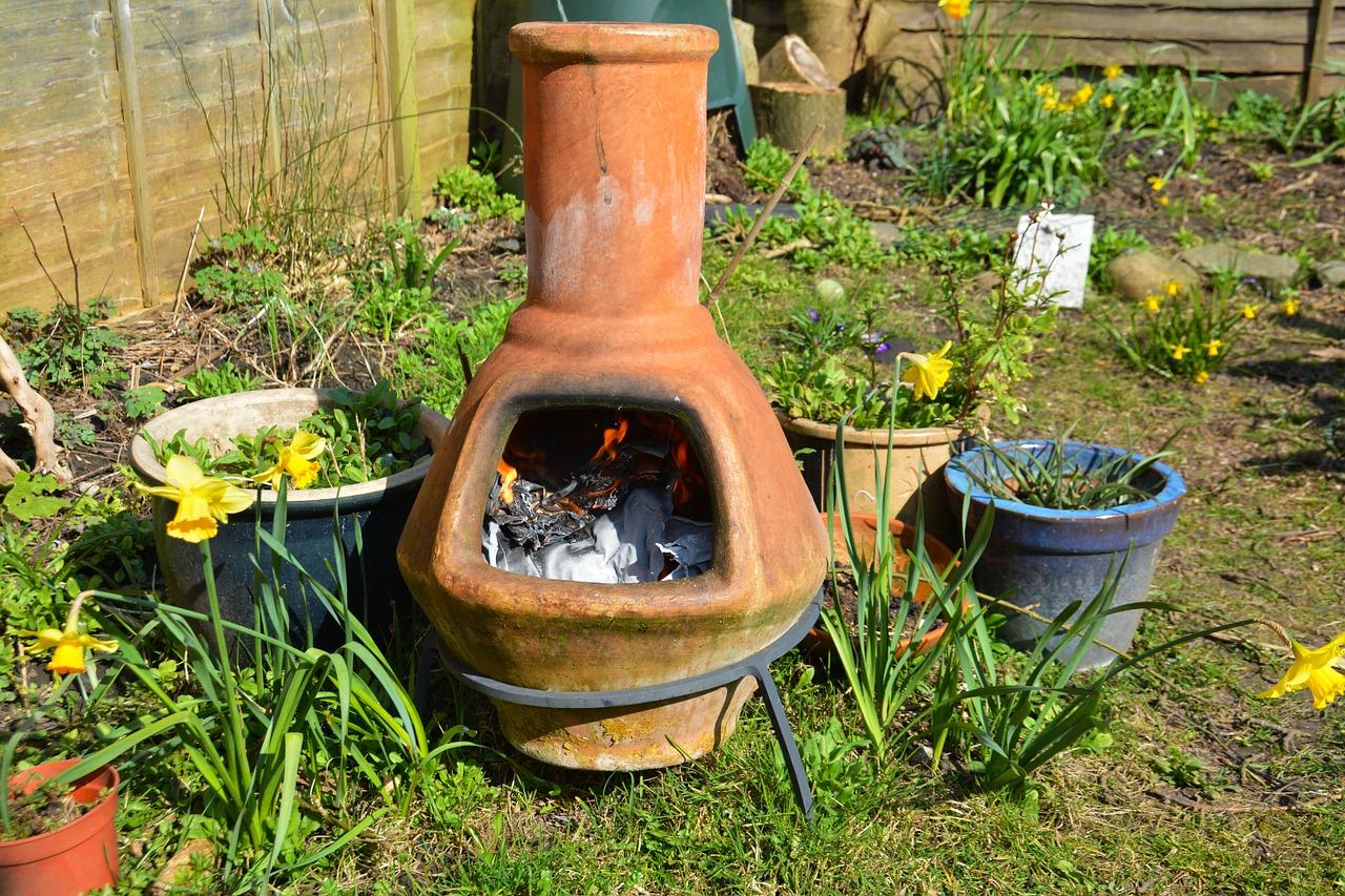 Garten Feuerstelle Feuertonne Gartenofen