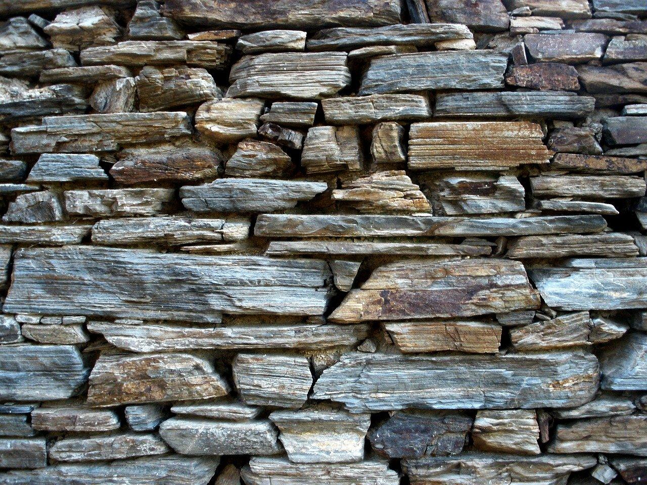 Natursteine Steine Gabione Steinwand