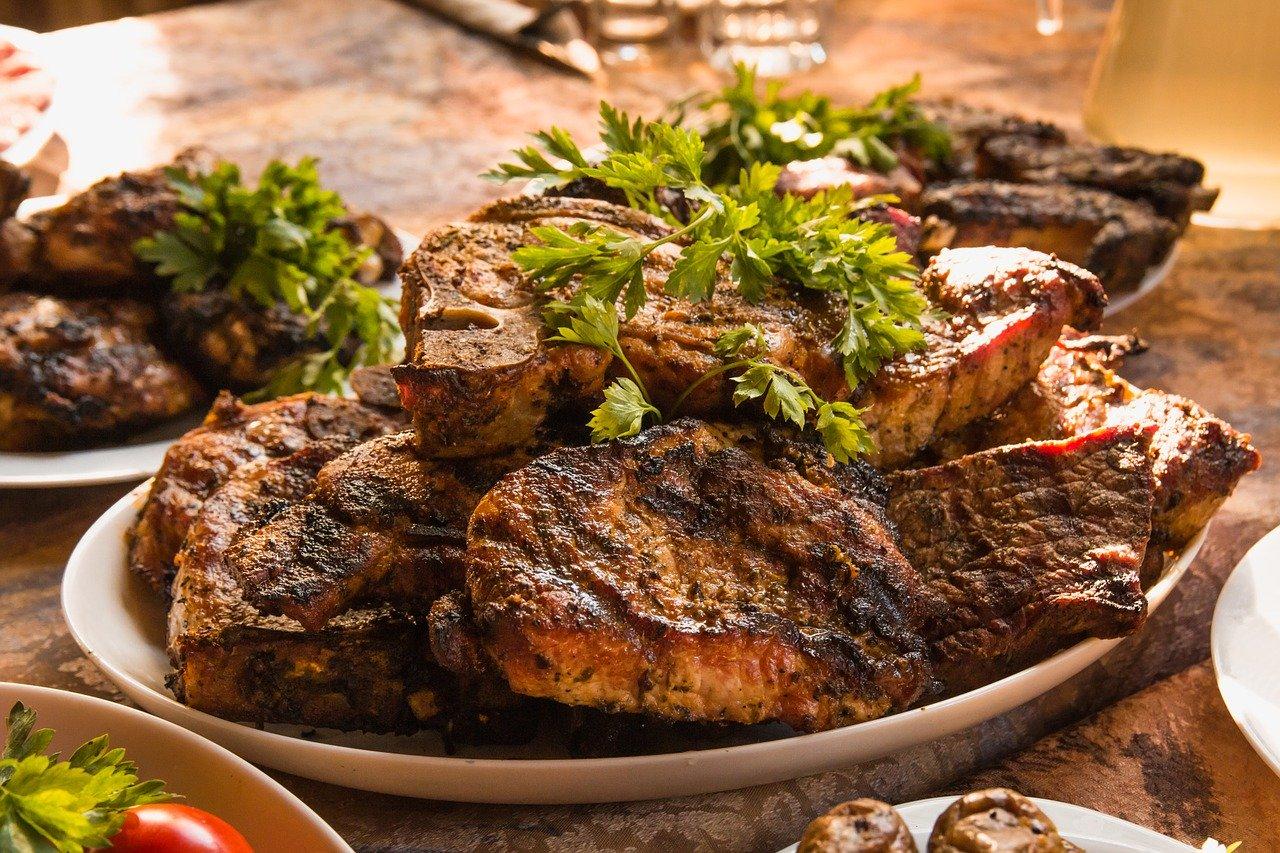 Barbecue Grillen Fleisch Steak