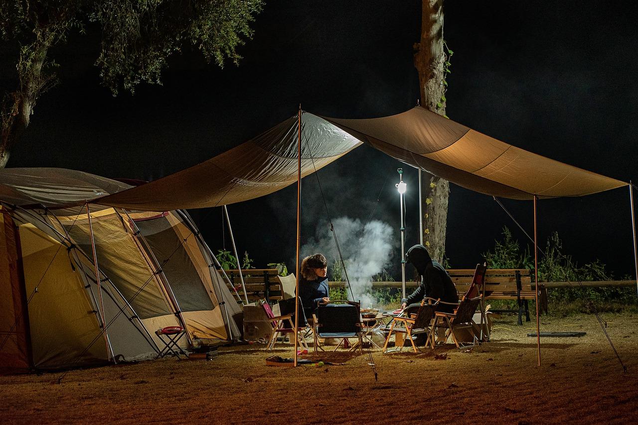 Camping Grillen Feuer Feuerschale Feuerstelle