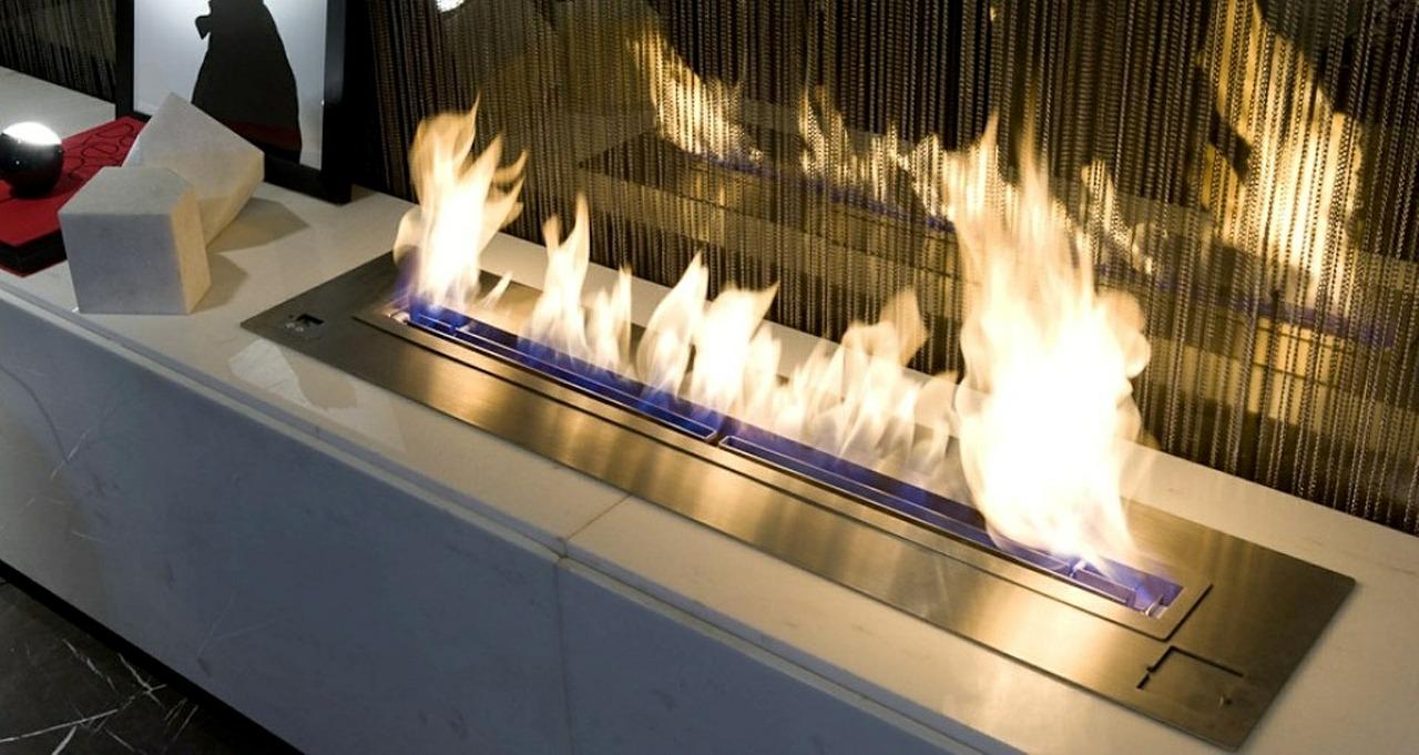 Ethanol Flammen Indoor Feuer Kamin