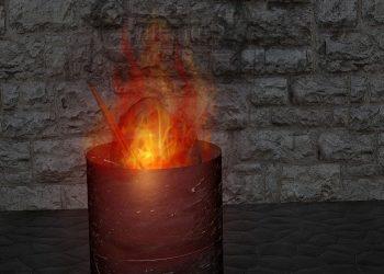Feuertonne mit Motiv | Ideen für Feuerschale & Feuerstelle
