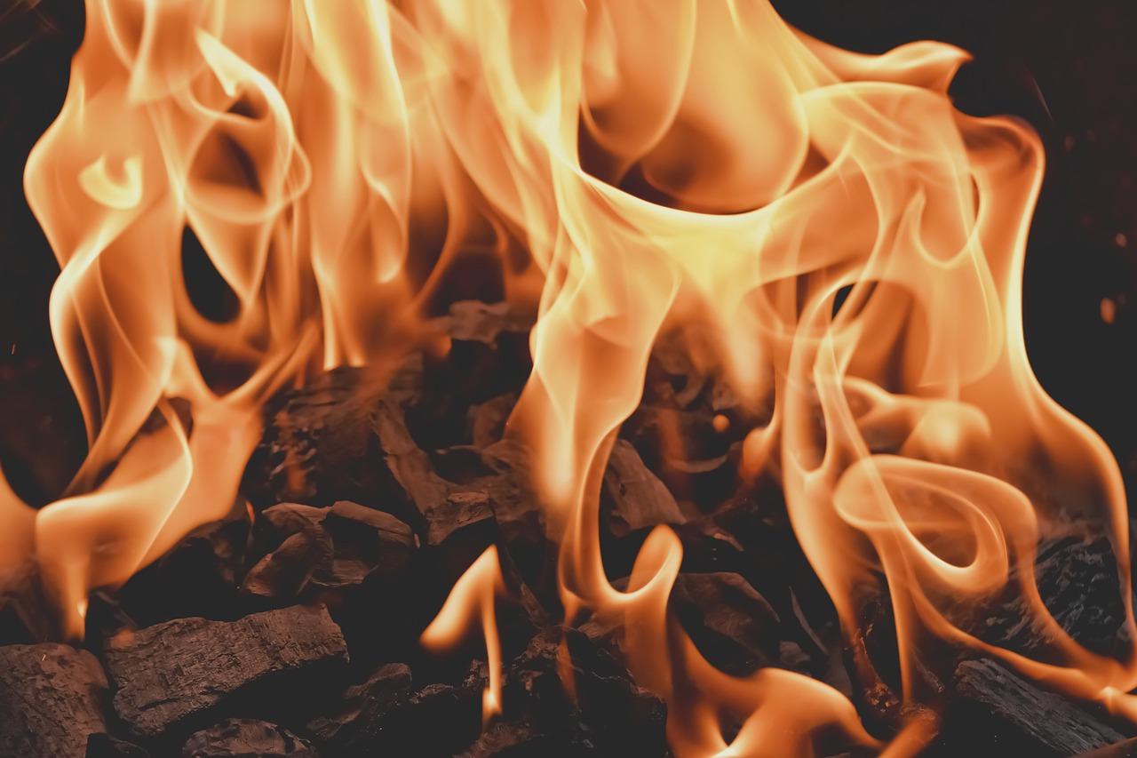 Feuer Flammen Hitze Glut