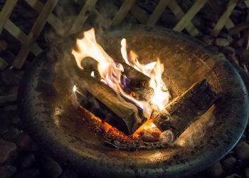 Dreibein für Feuerschale | Feuerstelle, Lagerfeuer & Grill